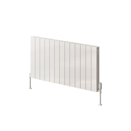 Reina Casina Double Horizontal Designer Radiator - 600mm High x 850mm Wide - Anthracite